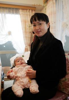 弁護士の大平光代(41)ダウン症の女児を出産(画像あり)